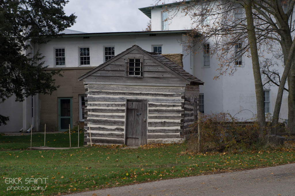 Cabin with an underground tunnel was used as part of the underground railroad.